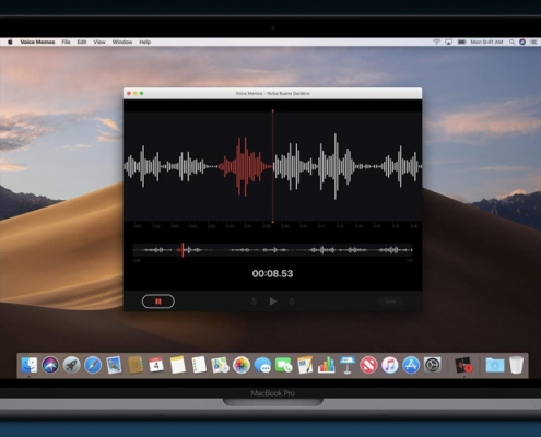 MacOS Voice Over App